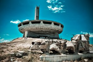 Busludscha-Denkmal auf dem Chadschi Dimitar Berg in Bulgarien