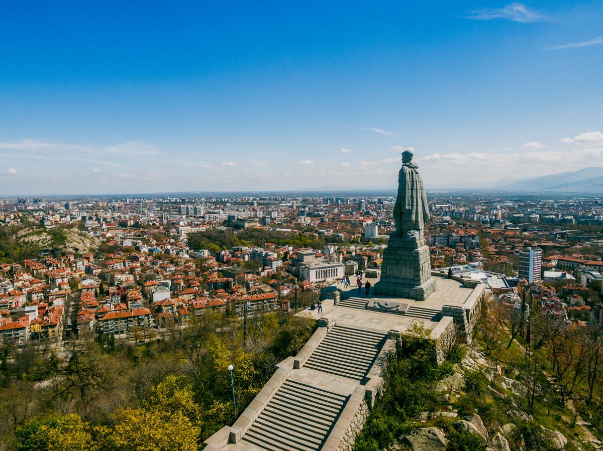 Denkmal des unbekannten Soldaten von Plowdiw in Bulgarien
