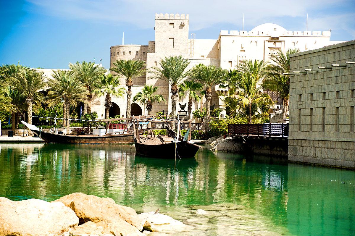 Künstlicher See in Dubai