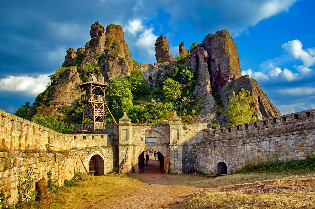 Festung Kaleto bei Belogradtschik in Bulgarien