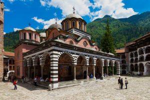 Kloster Rila in Bulgarien