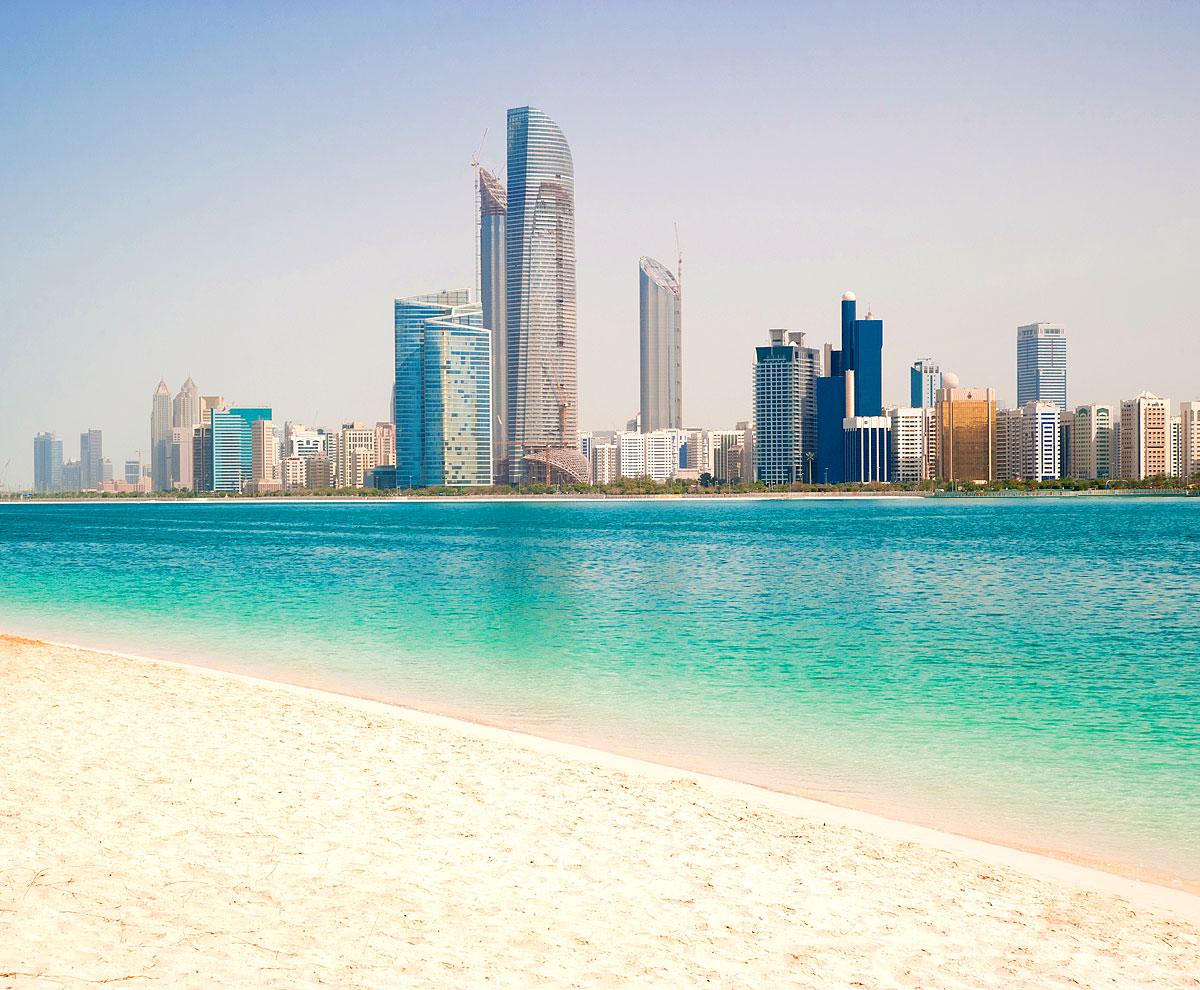 Die Golfküste in Dubai