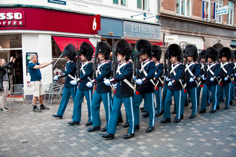 Wachen in Kopenhagen