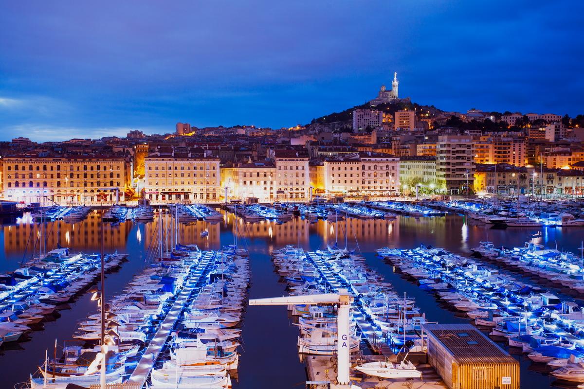 Alter Hafen von Marseille