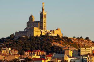 Blick auf den Notre-Dame de la Garde in Marseille