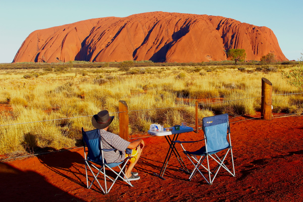 Ayers Rock / Uluru in Australien
