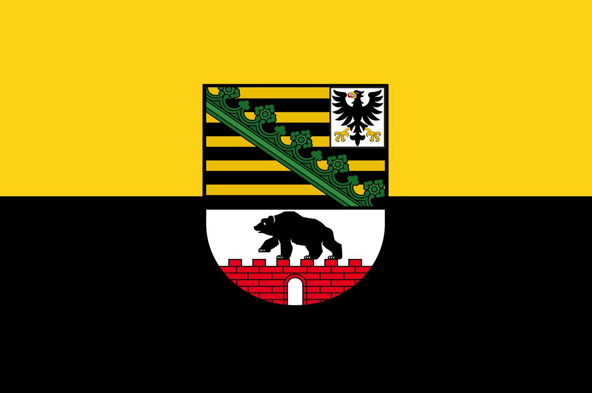 Flagge Sachsen-Anhalt
