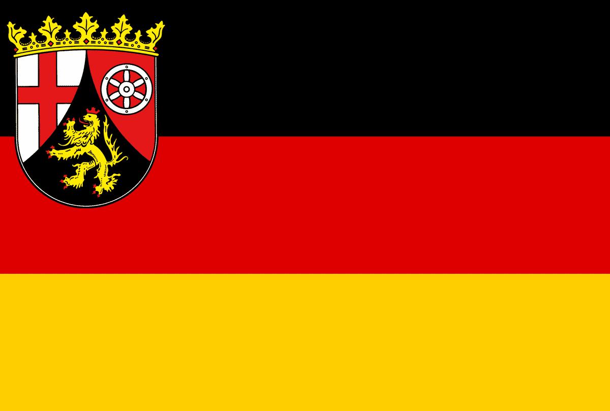 Rheinland Pfalz Flagge