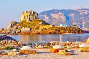 Insel Kastri, in der Nähe von Kos