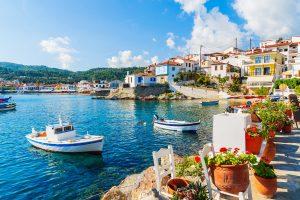 Port Kokkari auf Samos