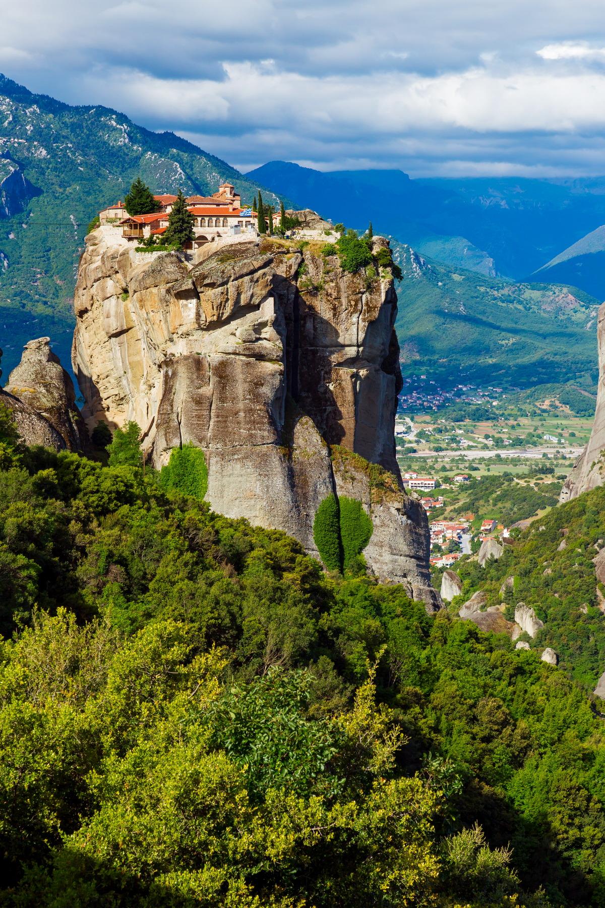 Kloster Agía Triáda (Heilige Dreifaltigkeit) in Meteora