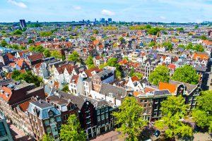 Blick über Amsterdam