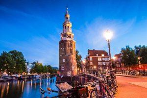 Amsterdam: Montelbaanstoren (Turm)