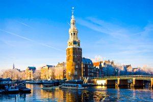 Wasserturm in Amsterdam