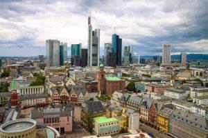 Blick über Frankfurt am Main