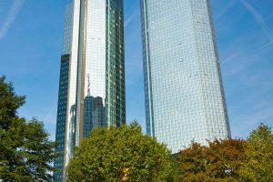 Deutsche Bank Towers in Ftrankfurt am Main