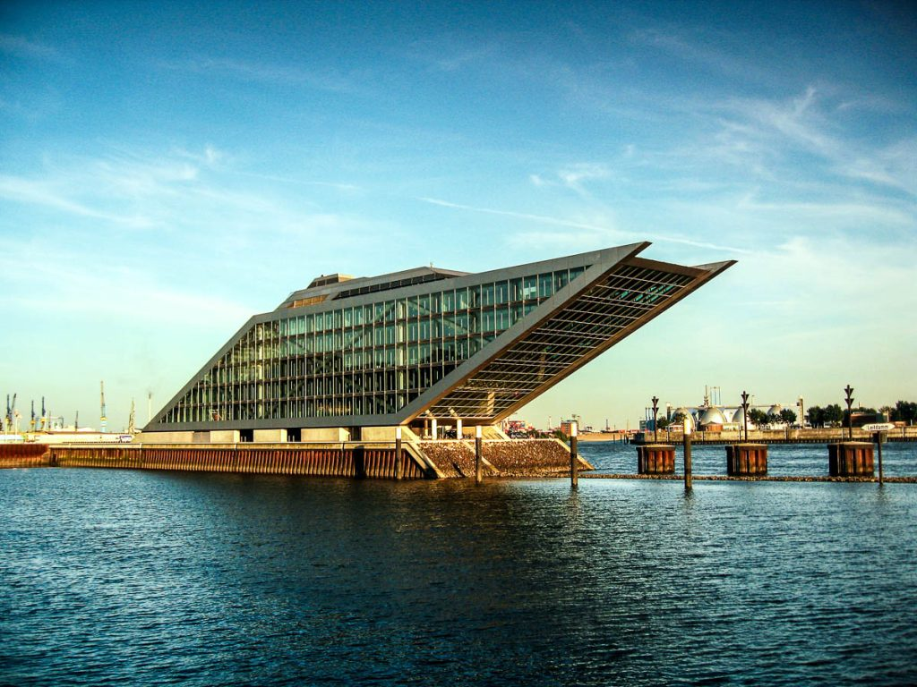 Foto des Dockland in Hamburg