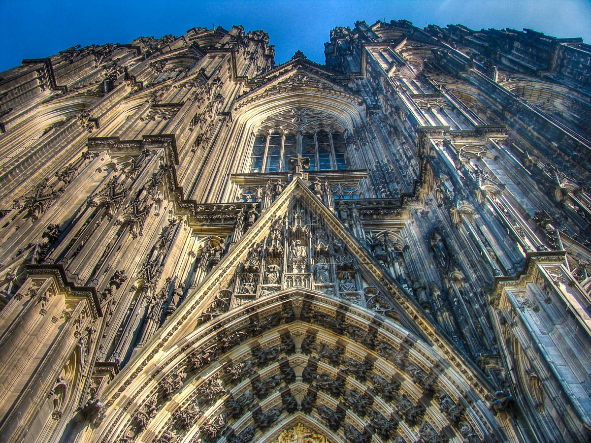 Fassade des Kölner Doms
