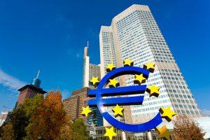 EZB Europäische Zentralbank in Frankfurt