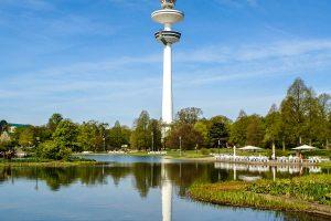 Fernsehturm in Hamburgq