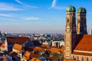 Frauenkirche und Blick über München