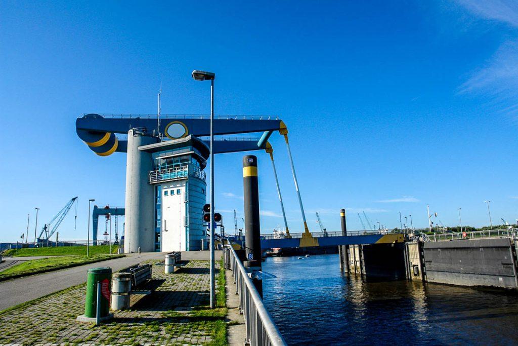 Hängebrücke in Hamburg