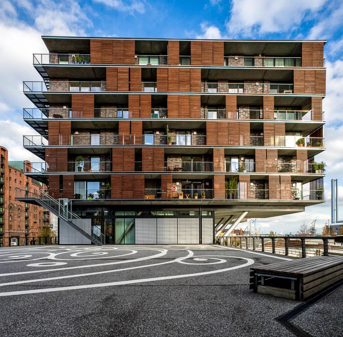 Moderne Architektur in Hamburg