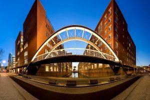 Brücke in der Speicherstadt Hamburg