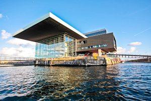 Muziekgebouw (Haus der Musik) in Amsterdam