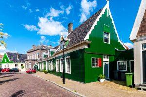 Amsterdam: Holzhäuser in Zaanse Schans