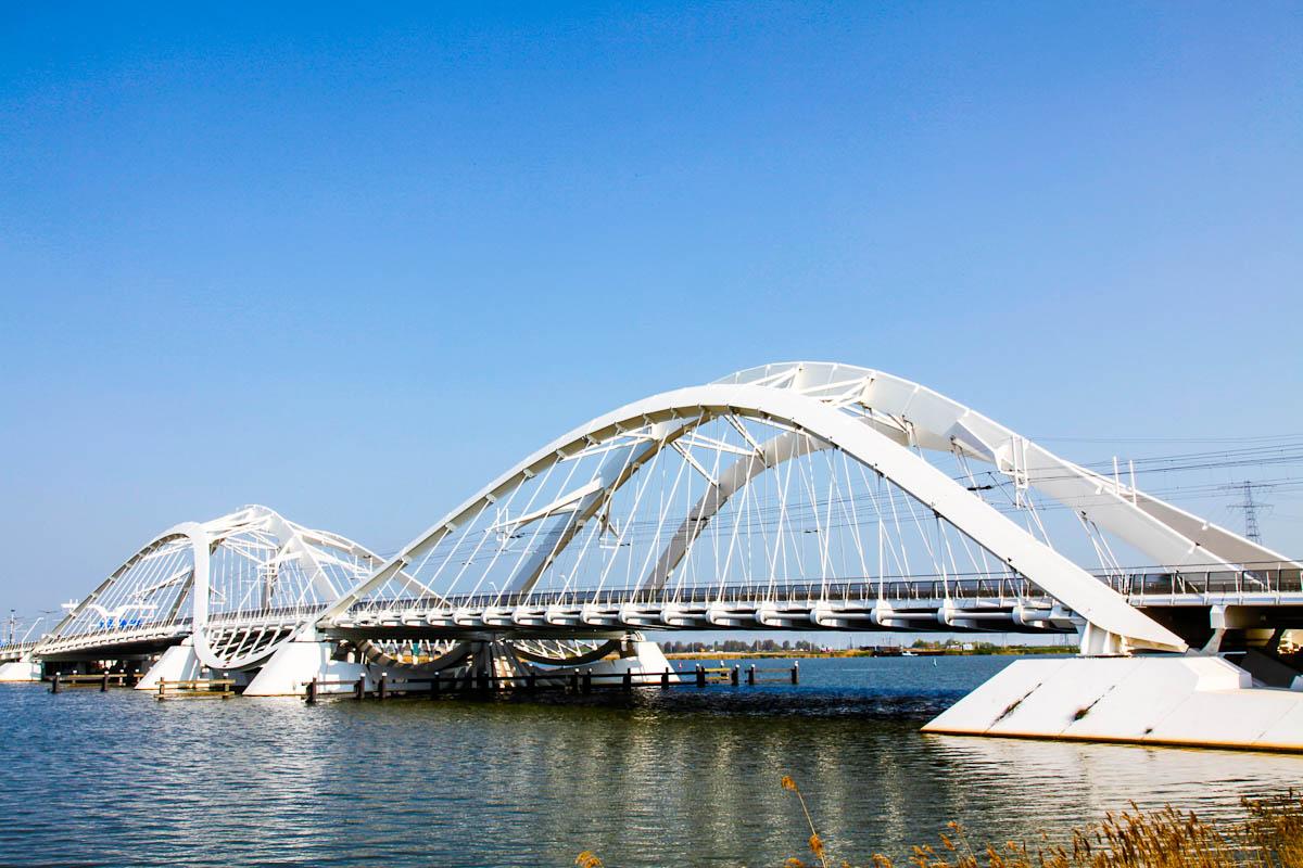 IJburg Brücke in Amsterdam