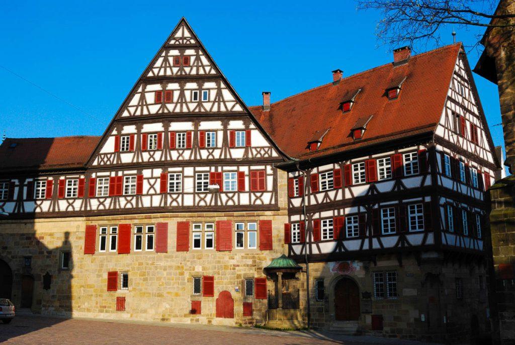Mittelalterliches Haus in Stuttgart-Esslingen