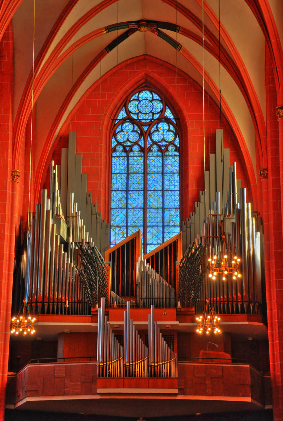 Orgel im Kaiserdom Frankfurt am Main