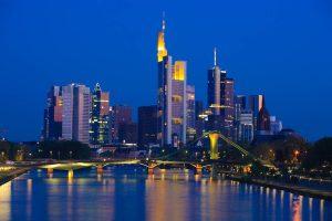Skyline von Frankfurt / Main