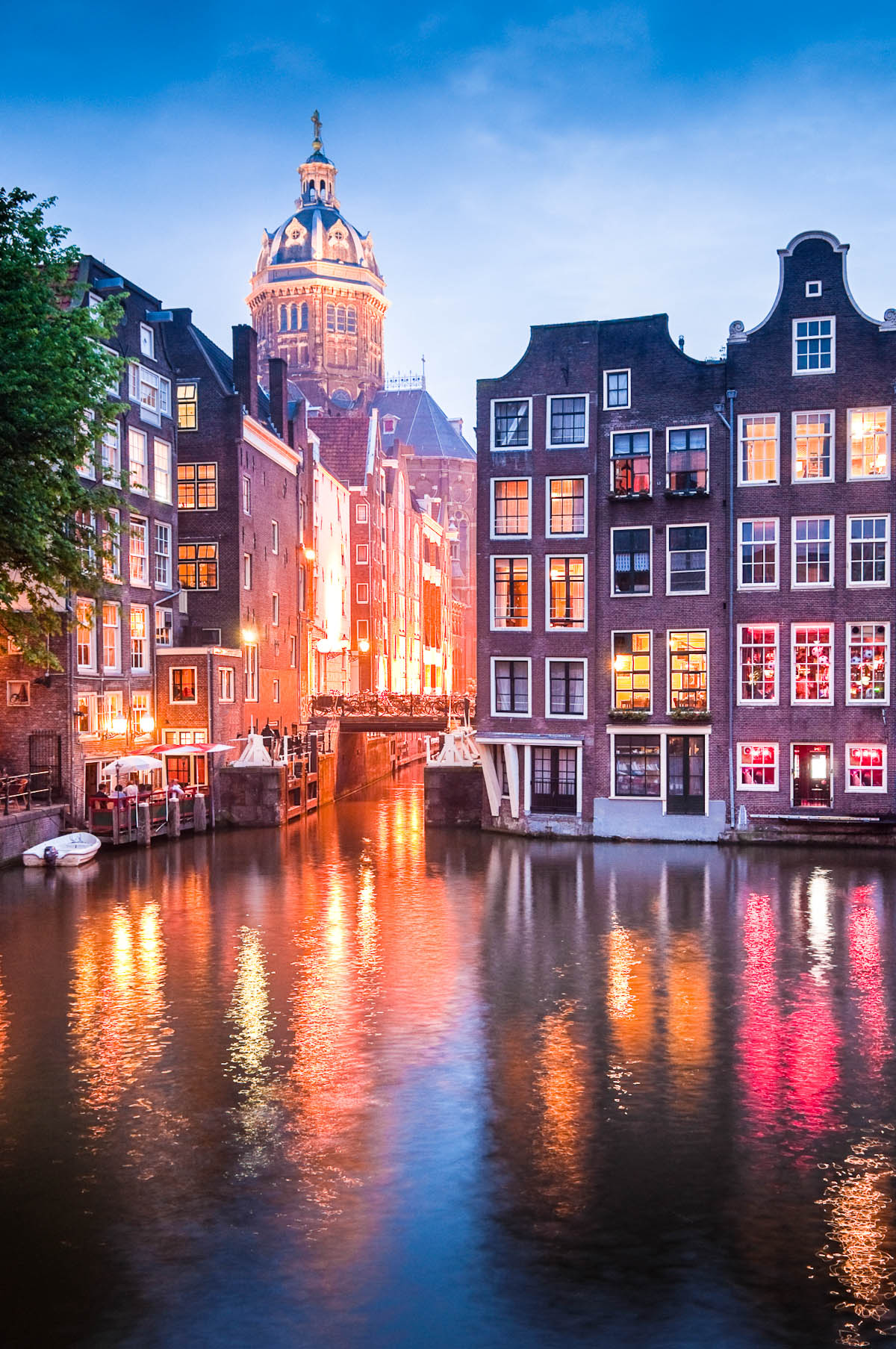 Amsterdam: St. Nicholas Kirche (Sint-Nicolaaskerk)