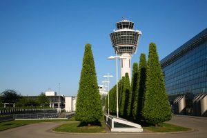 Tower am Flughafen München