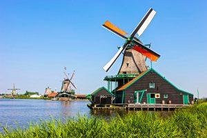 Windmühle in Zaanse Schans