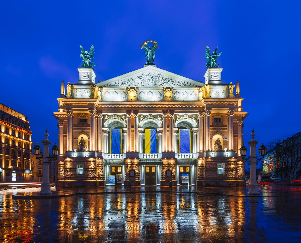Lemberger Opern- und Balletttheater in Lwiw