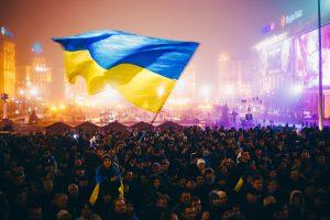 Proteste auf dem Majdan in Kiew