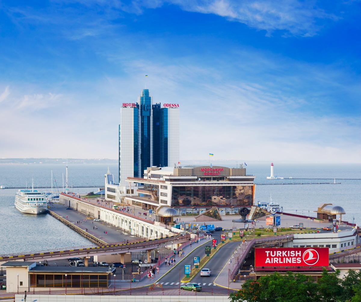 Seehafen von Odessa