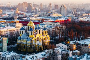 St. Vladimir's Kirche in Kiew