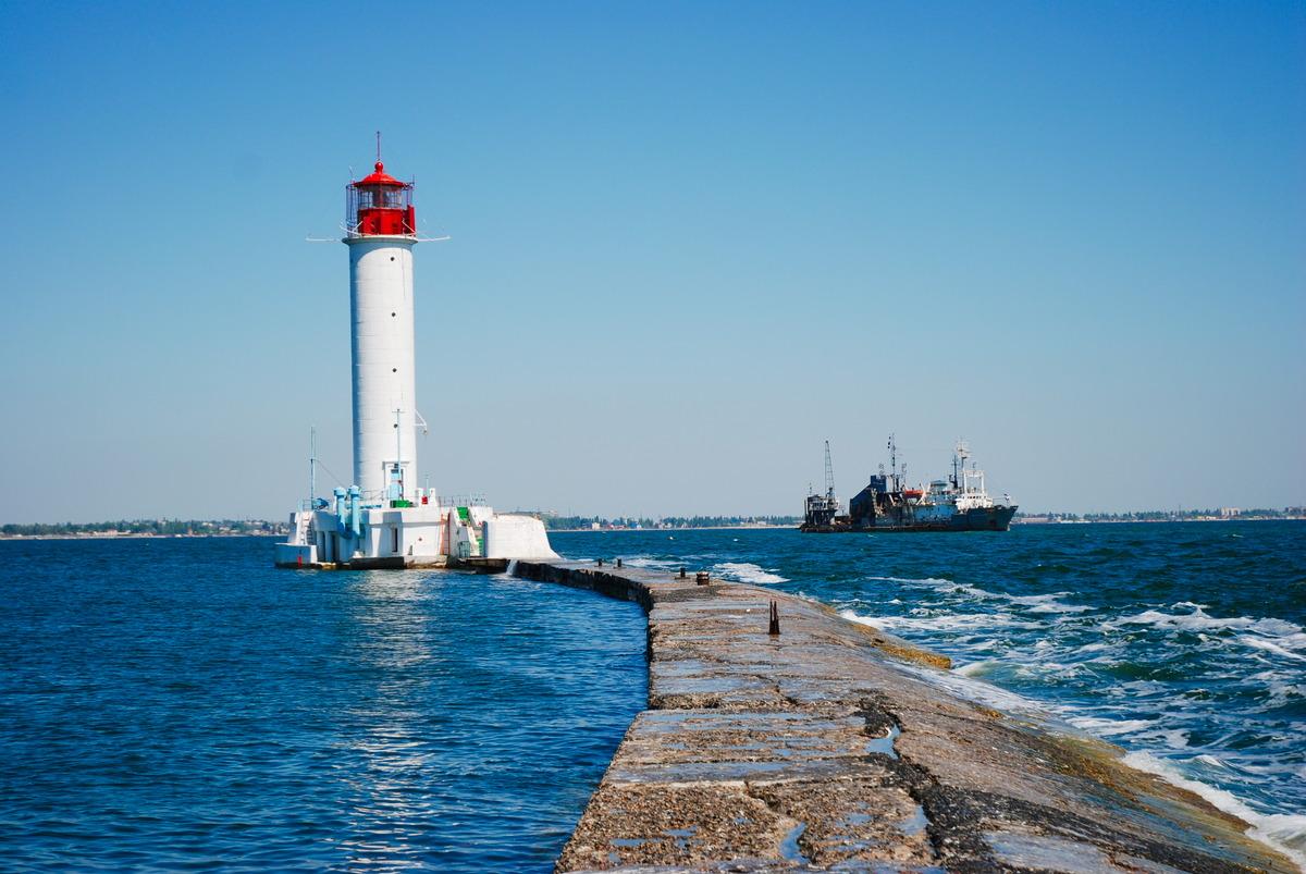 Leuchtturm in Odessa