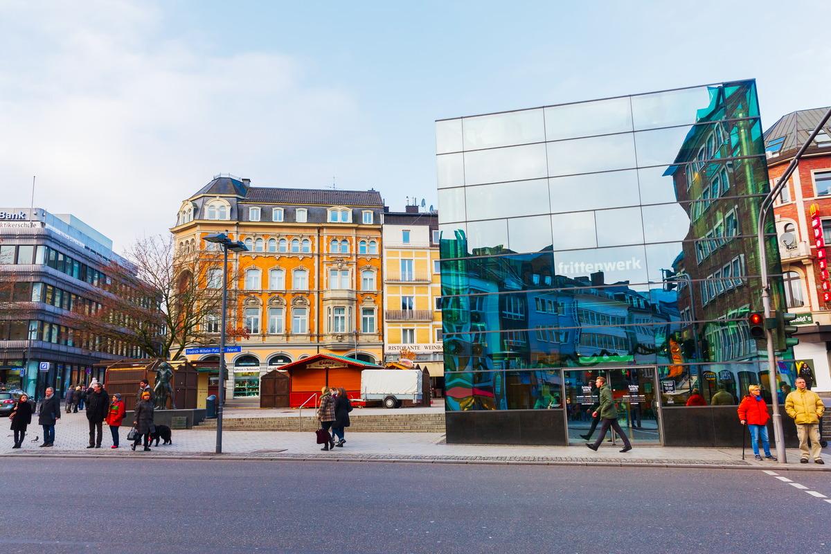 Peterstraße in Aachen (Foto: Christian Mueller   Shutterstock)