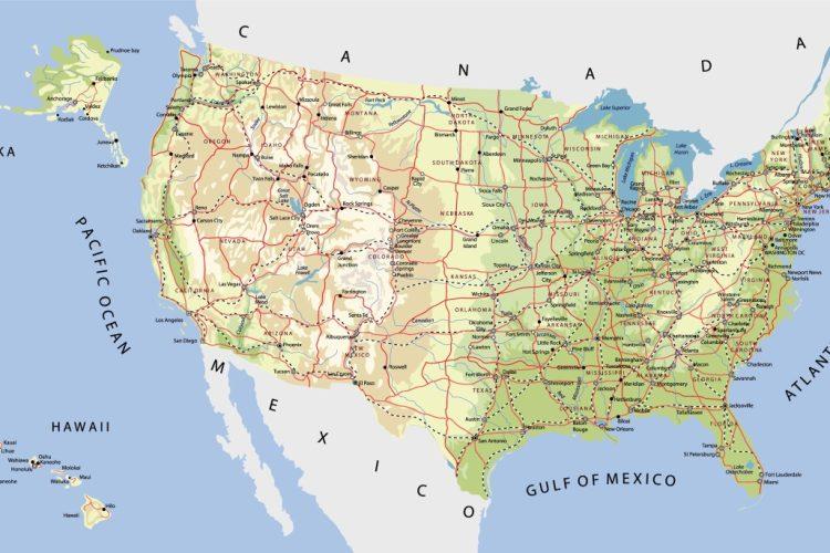 Großstädte der USA