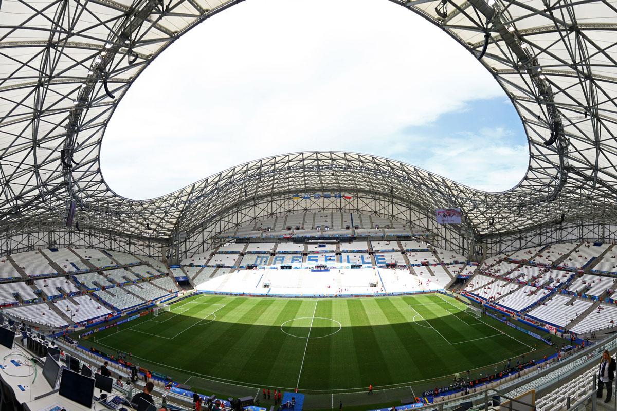Stade Velodrom in Marseille