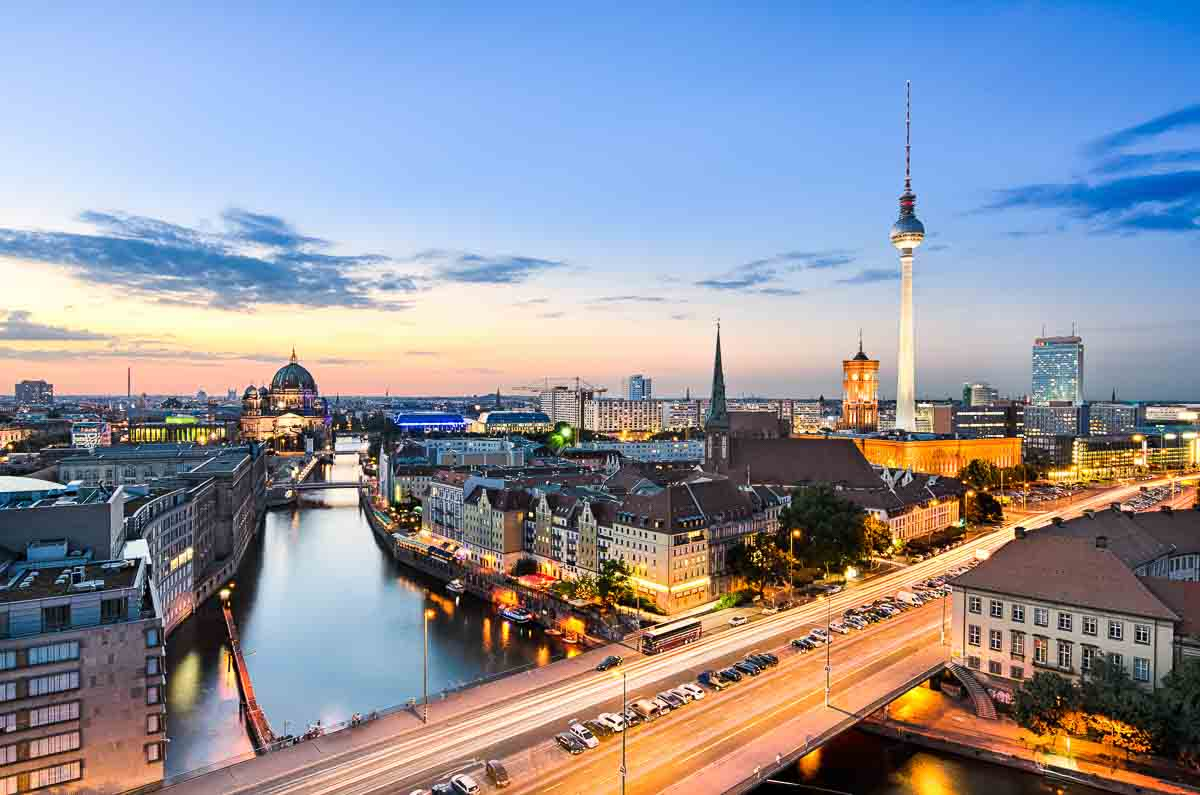 Blick über Berlin-Mitte