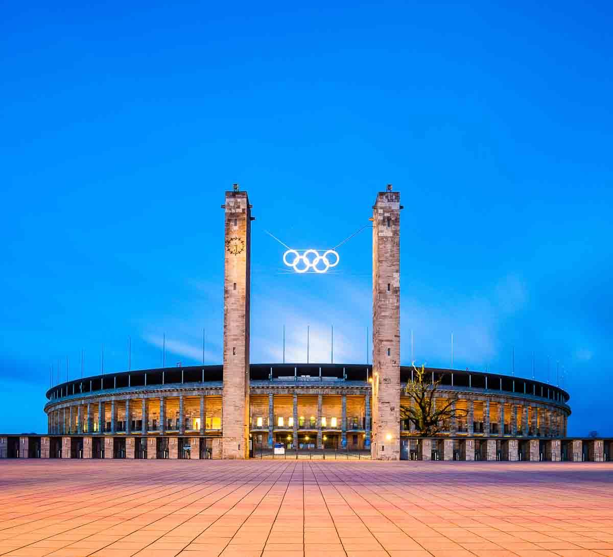 Olympiastadium in Berlin