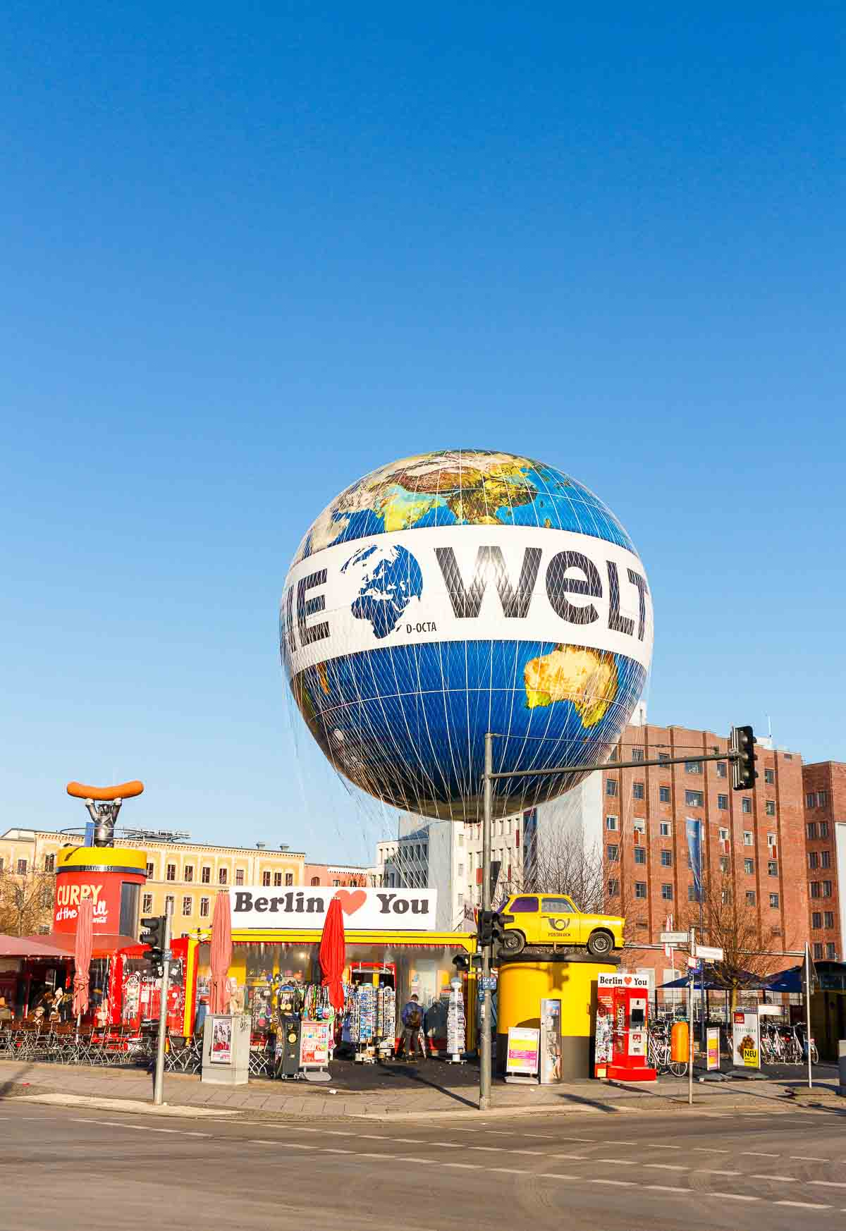 Berlin Hi Flyer Ballon