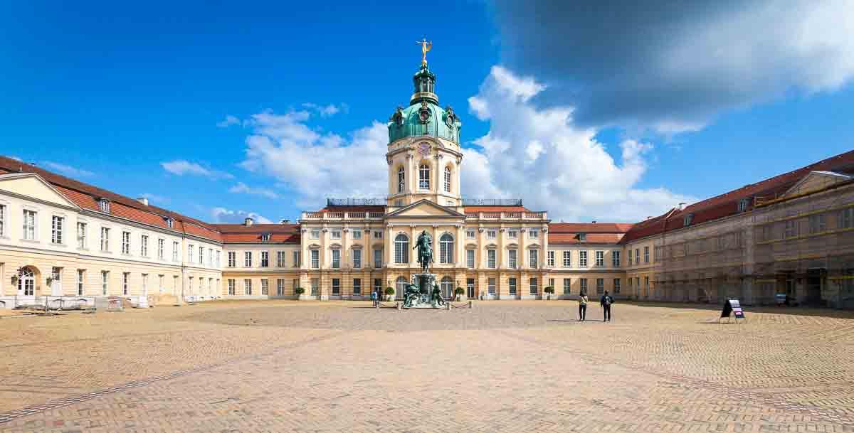 Schloß Charlottenburg in Berlin