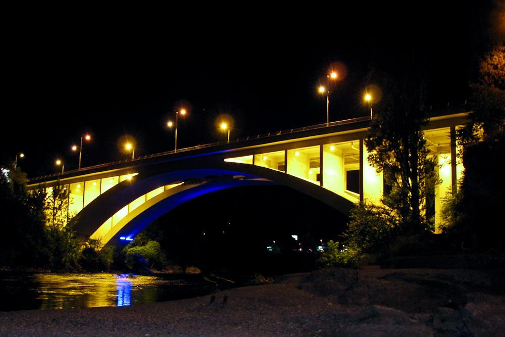 Brücke über den Fluss Moraca in Podgorica